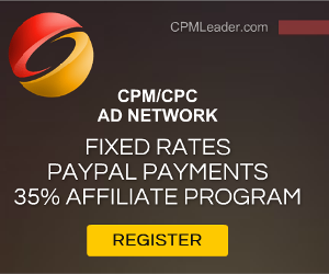 CPM Advertising Network